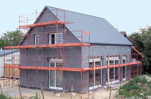 Energooszczędny dom dostępny w budowie